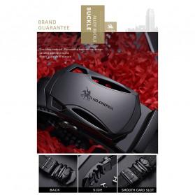 NO.ONEPAUL Tali Ikat Pinggang Luxury Automatic Buckle 3.5cm - N71396 - Black - 7