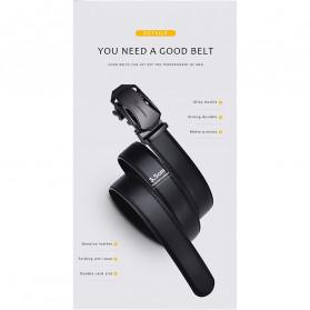NO.ONEPAUL Tali Ikat Pinggang Luxury Automatic Buckle 3.5cm - N71396 - Black - 8