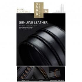 NO.ONEPAUL Tali Ikat Pinggang Luxury Automatic Buckle 3.5cm - N71396 - Black - 10
