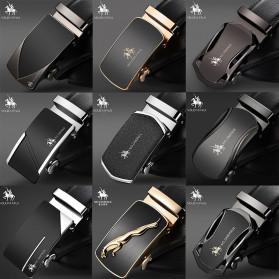 NO.ONEPAUL Tali Ikat Pinggang Luxury Automatic Buckle Y Type 3.5cm - WQE385 - Black - 3