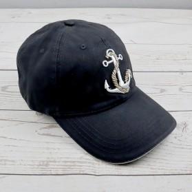 HATLANDER Topi Baseball Cap Hat 3D Embroidery - SU-SBC5006 - Black/Black