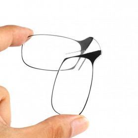 PANDER Kacamata Baca Frameless Clip Nose Mini Reading Glasses Keychain +150 - TR90 - 4
