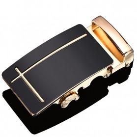 Hotti Kepala Gesper Ikat Pinggang Metal Model 6 - HT0011 - Golden