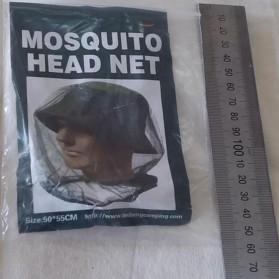 PLAYKING Jaring Topi Mancing Anti Nyamuk Lebah Serangga - T00301 - Green - 5