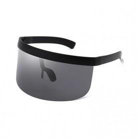 SGTNYA Kacamata Sunglasses Face Shield Visor Windproof - O44 - Black