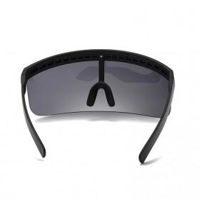 SGTNYA Kacamata Sunglasses Face Shield Visor Windproof - O44 - Black - 3