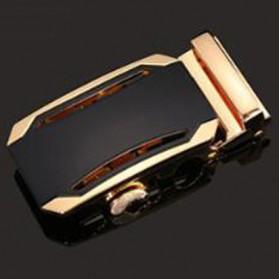 BAYIDA Kepala Gesper Ikat Pinggang Metal Buckle Belt - 610 - Silver/Gold