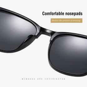 MERRYS Kacamata Frame Classic Polarized Sunglasses UV400 - 3323 - Black - 3