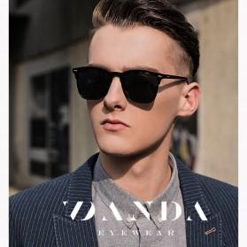 MERRYS Kacamata Frame Classic Polarized Sunglasses UV400 - 3323 - Black - 5