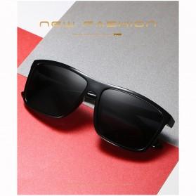 AORON Kacamata Polarized Sunglasses UV Protection - 6625 - Gray - 2