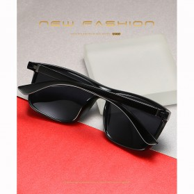 AORON Kacamata Polarized Sunglasses UV Protection - 6625 - Gray - 3