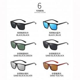AORON Kacamata Polarized Sunglasses UV Protection - 6625 - Gray - 4