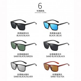 AORON Kacamata Polarized Sunglasses UV Protection - 6625 - Blue - 4