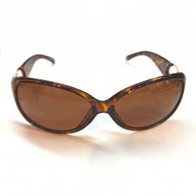 MERRYS Kacamata Frame Classic Polarized Sunglasses  - 4975 - Brown