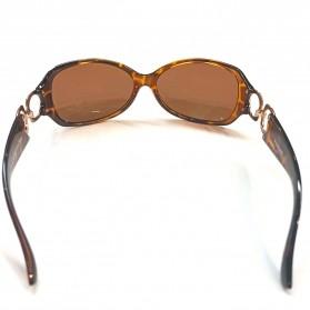 MERRYS Kacamata Frame Classic Polarized Sunglasses  - 4975 - Brown - 2