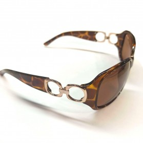 MERRYS Kacamata Frame Classic Polarized Sunglasses  - 4975 - Brown - 3