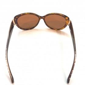 MERRYS Kacamata Frame Classic Polarized Sunglasses  - 5675 - Brown - 2