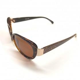 MERRYS Kacamata Frame Classic Polarized Sunglasses  - 5675 - Brown - 4
