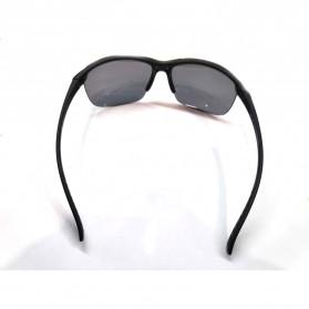 BOSU Kacamata Pria Frame Classic UV Protection - 1020 - Black - 2
