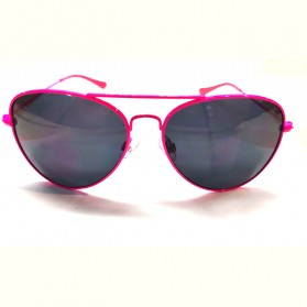 MERY'S Kacamata Frame Classic UV Protection Sunglasses - 5679 - Pink