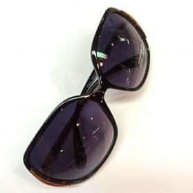 FGX Kacamata Frame Classic Polarized UV Protection Sunglasses  - 10206301 - Black - 2