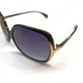 FGX Kacamata Frame Classic Polarized UV Protection Sunglasses  - 10206301 - Black - 4