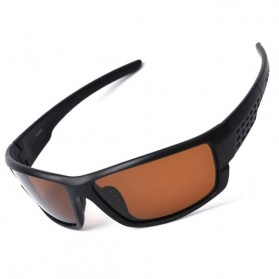 TAGION Kacamata Driving Cycling Sporty Polarized Sunglasses - 5102 - Brown - 1