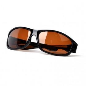 TAGION Kacamata Driving Cycling Sporty Polarized Sunglasses - 5102 - Brown - 2