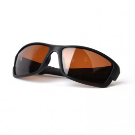 TAGION Kacamata Driving Cycling Sporty Polarized Sunglasses - 5102 - Brown - 3