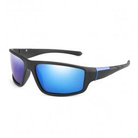AOZE Kacamata Fashion Polarized Sunglasses UV400 - KPD190 - Black/Blue