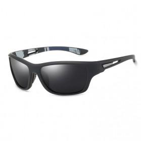 WERGASUN Kacamata Fashion Polarized Sunglasses UV400 - 3066 - Black/Black