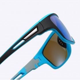 WERGASUN Kacamata Fashion Polarized Sunglasses UV400 - 3066 - Black/Black - 5