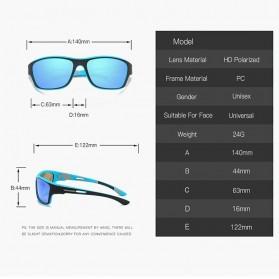 WERGASUN Kacamata Fashion Polarized Sunglasses UV400 - 3066 - Black/Black - 6