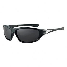 XIRAN Kacamata Fashion Polarized Sunglasses UV400 - P3016 - Black/Black