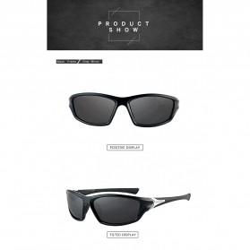 XIRAN Kacamata Fashion Polarized Sunglasses UV400 - P3016 - Black/Black - 2