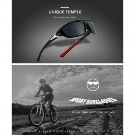 XIRAN Kacamata Fashion Polarized Sunglasses UV400 - P3016 - Black/Black - 3
