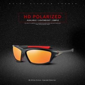 XIRAN Kacamata Fashion Polarized Sunglasses UV400 - P3016 - Black/Black - 7