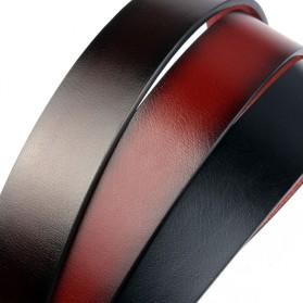 Dandall Tali Ikat Pinggang Pria Kulit Desain Premium Luxury Belt - Black - 5