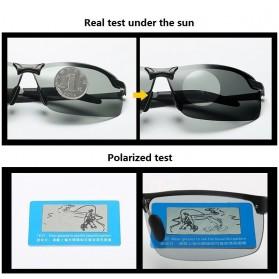 GIAUSA Kacamata Photochromic Polarized Sunglasses UV400 - G3043 - Black - 3