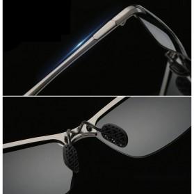 GIAUSA Kacamata Photochromic Polarized Sunglasses UV400 - G3043 - Black - 4