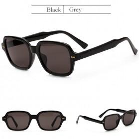 OEC CPO Kacamata Trendy Square Frame Sunglasses UV400 - O403 - Black