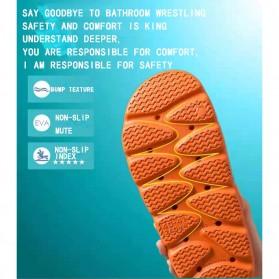 SONDR Sandal Selop Comfy Non-slip Indoor Slipper Size 42/43 - FSP104 - Black - 13