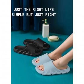 SONDR Sandal Selop Comfy Non-slip Indoor Slipper Size 42/43 - FSP104 - Black - 2