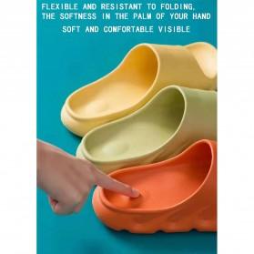 SONDR Sandal Selop Comfy Non-slip Indoor Slipper Size 42/43 - FSP104 - Black - 9