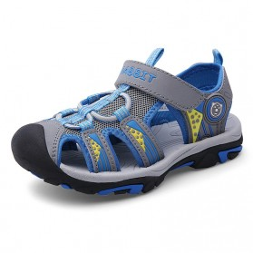 BENZELOR Sepatu Sandal Anak Pria Wanita Cute Outdoor Anti Slip Size 26 - BZ002 - Blue