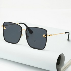 JackJad Kacamata Classic Stylis Sunglasses - A104 - Black