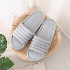 TECHOME Sandal Rumah Anti-Slip Slipper EVA Soft Unisex Size 44-45 - YS201 - Gray
