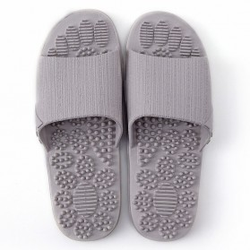 HEONYIRRY Sandal Rumah Anti-Slip Slipper EVA Soft Unisex Size 44-45 - Gray