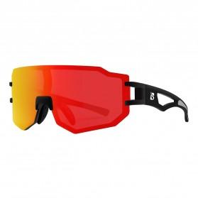 BOLLFO Kacamata Sepeda Driving Cycling Sporty Polarized Sunglasses - BF629 - Red