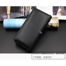 MenBense Dompet Pria Clutch Model Panjang - 888-4 - Black